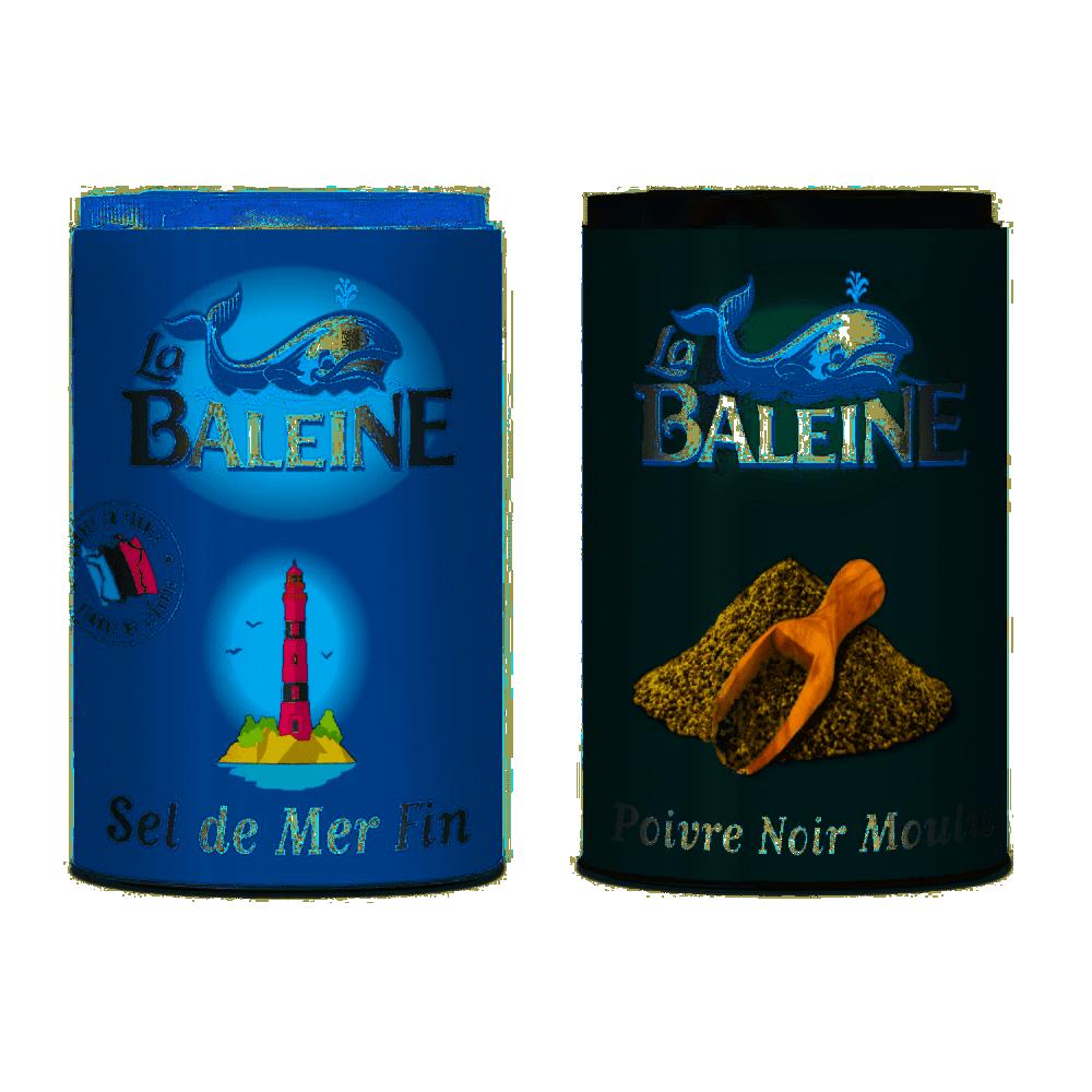 Duo Sel & Poivre 68g Baleine
