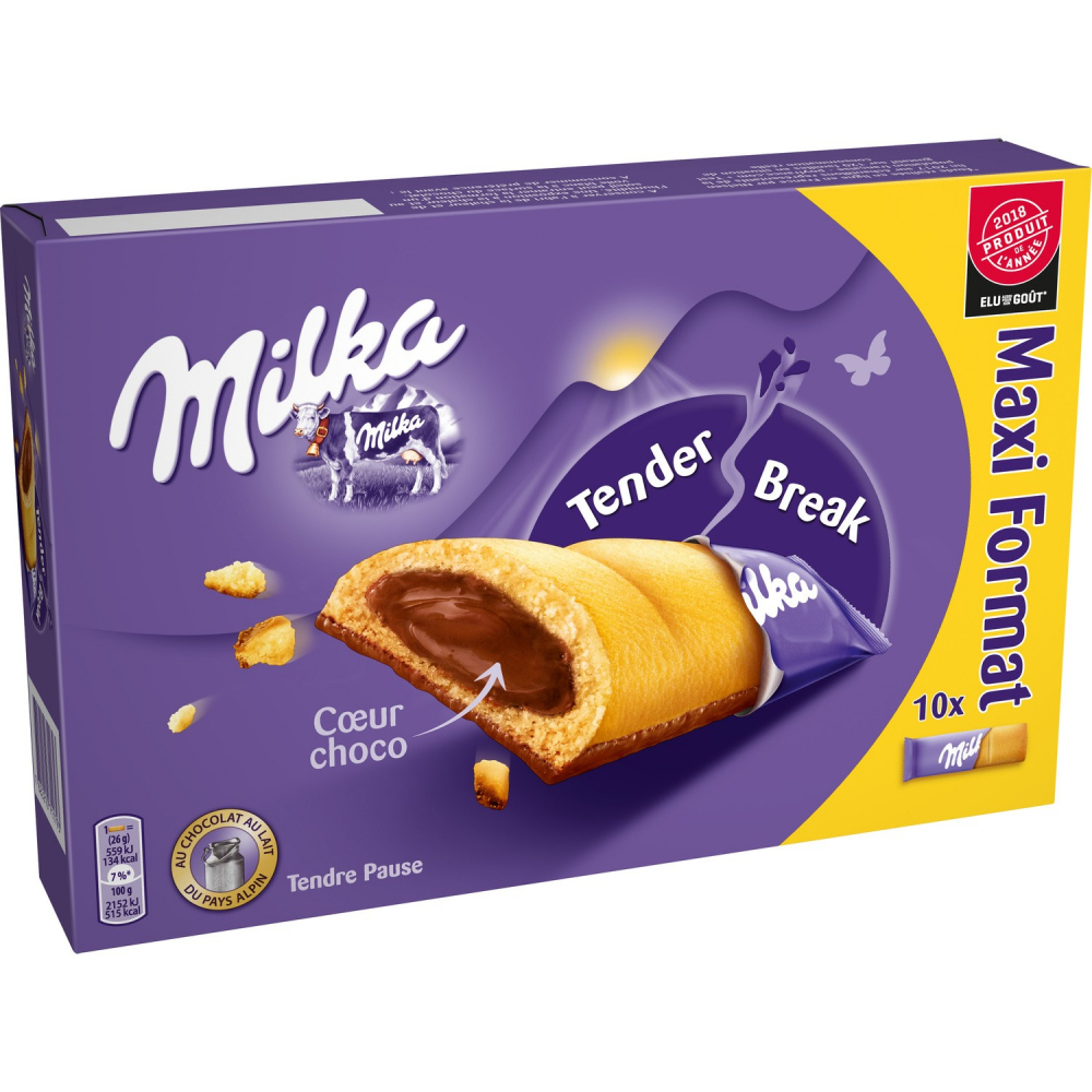 Milka Barre Coeur Choco 260g