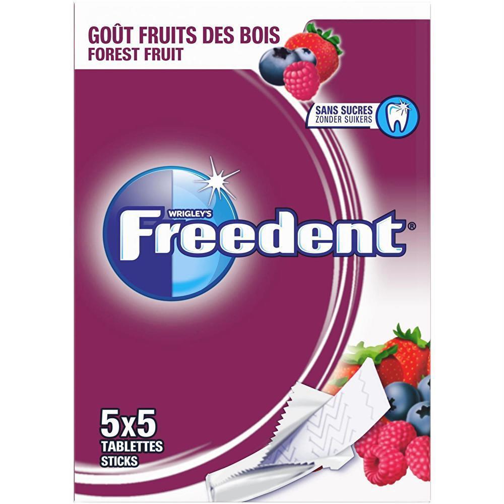 Freedent Frts Des Bois Stick X