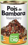 Voanjobory - pois de Bambara bio