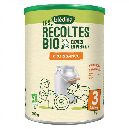 Les Recoltes Bio Croissance 80