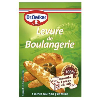 Levure De Boulangerie 21g