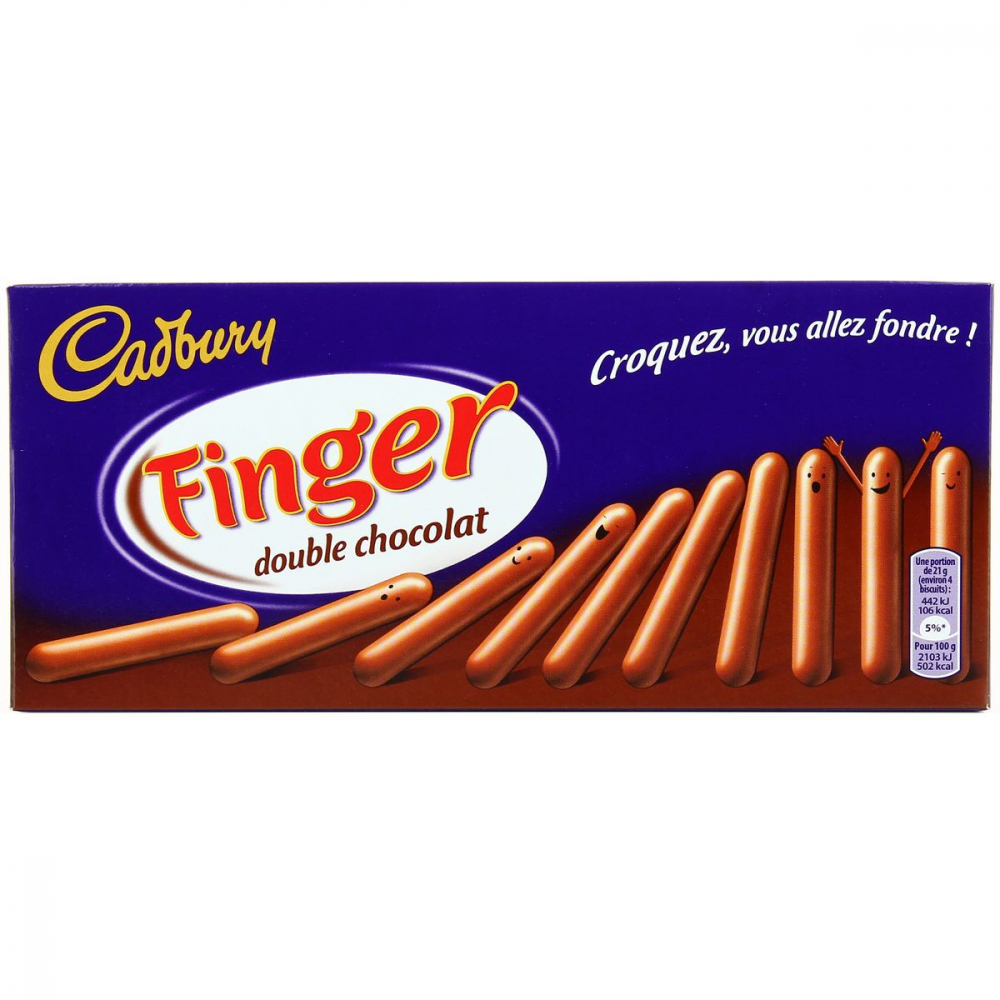 Finger Double Choco 114g