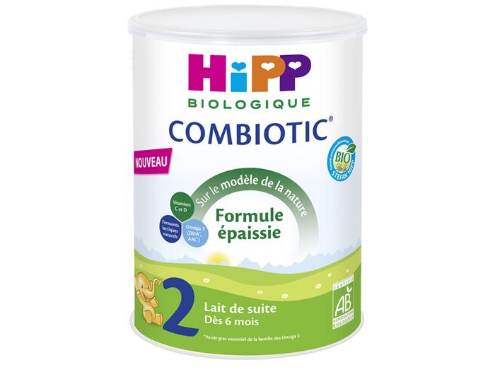 Hipp Lait 2 Combiotic Fe 800g