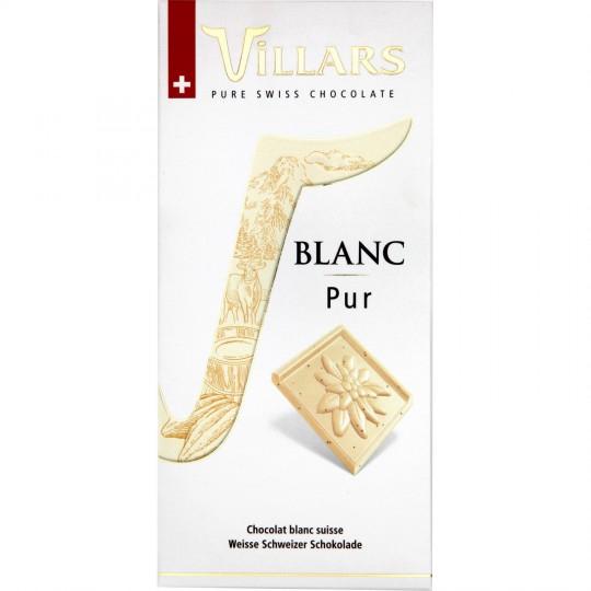 Tab.blanc Pur 100g Villar