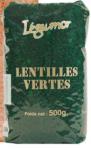 Lentilles Vertes 12 x 500g