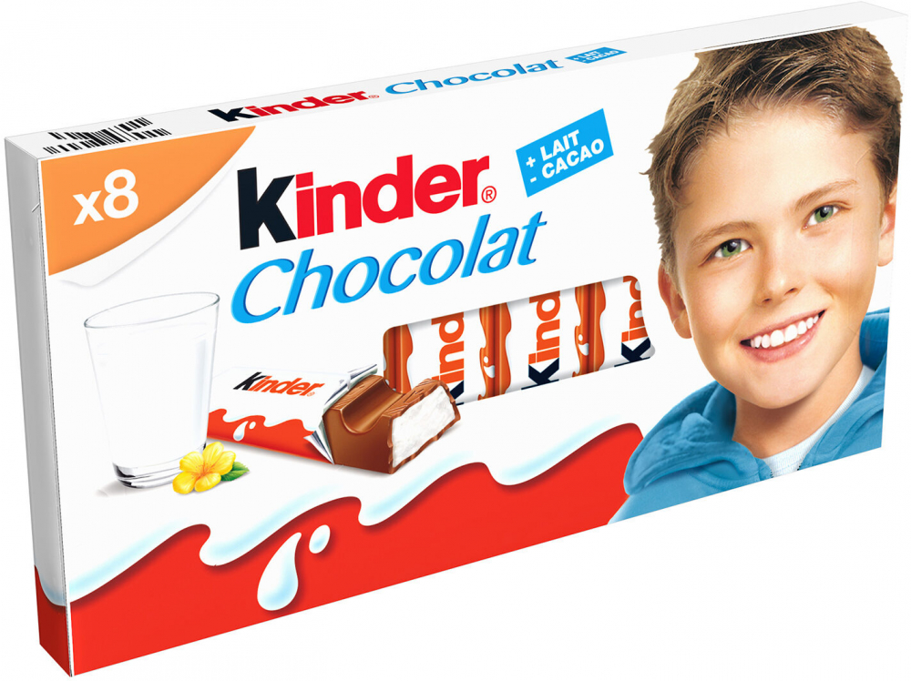 Kinder Chocolat T8 100g