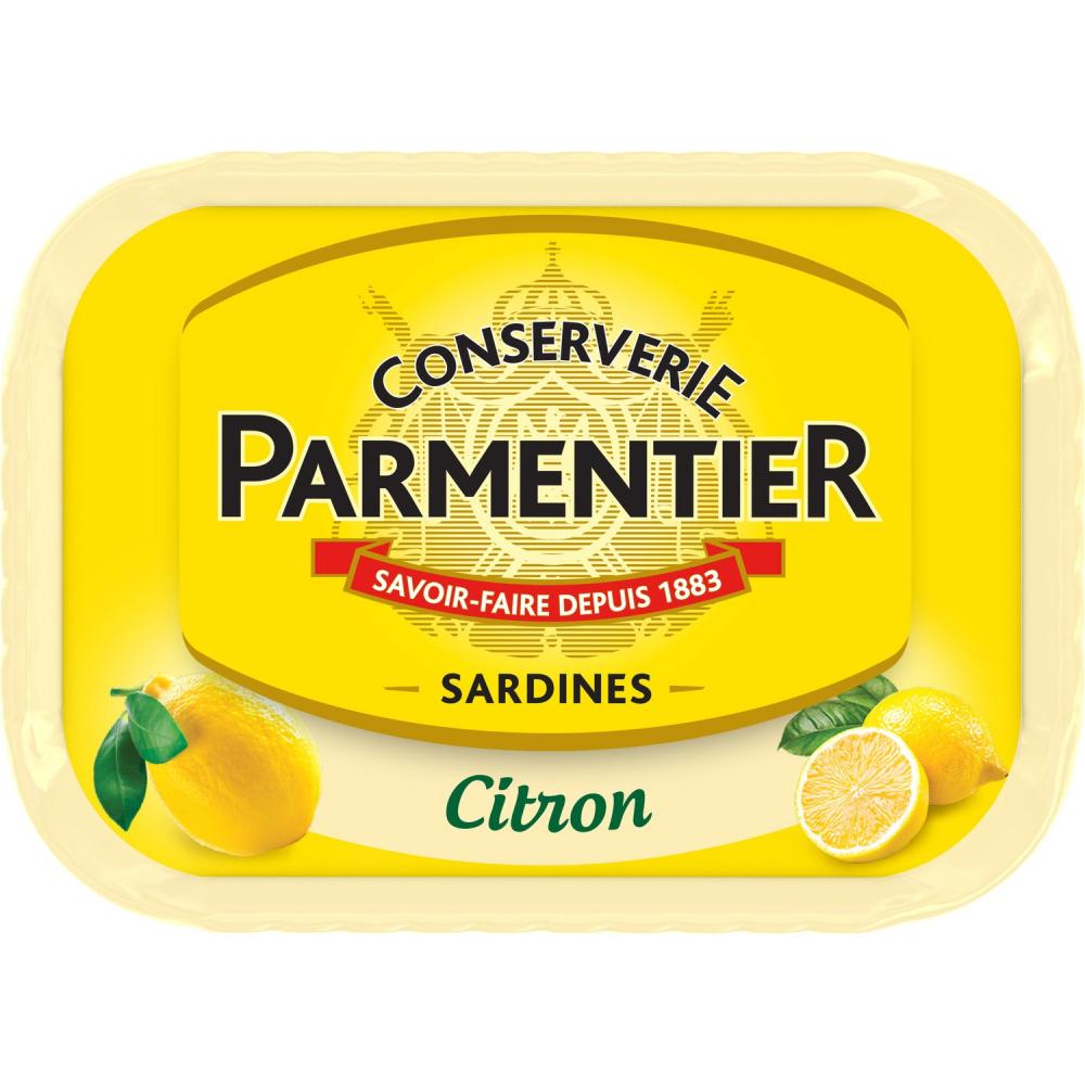 Sardine Citron Parmentier 135g
