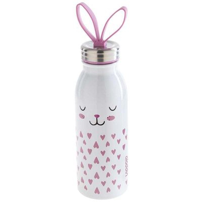Bouteille Isotherme Inox Lapin