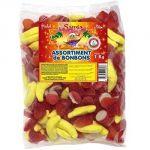 bonbons Assortiment gélifiés halal 1kg Samia