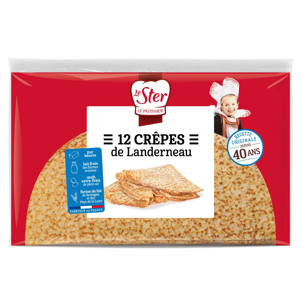Crepes Le Ster X12 300g