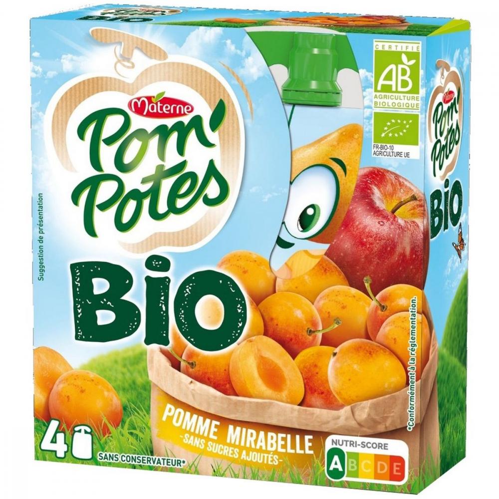 Pom'p Bio Pom/mirabel.4x90g