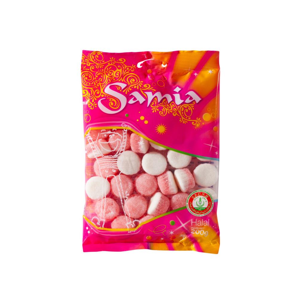 Bonbons Samia Fraise 200g