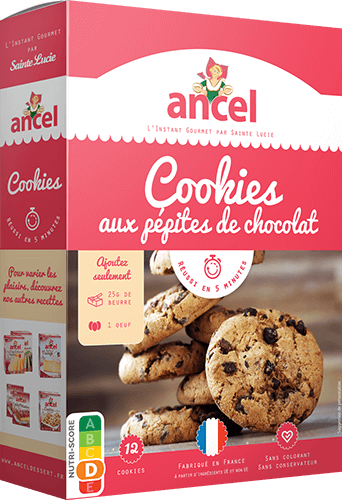 Cookies Aux Pep.choco.300g