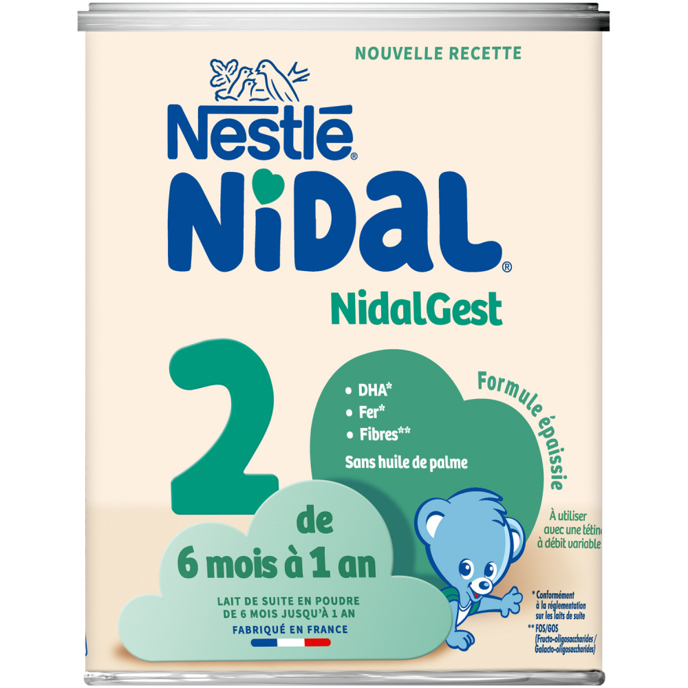 Nidal Plus 2e Age 800g