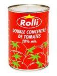 CONCENTRE DE TOMATE ROLLI BOITE 1 - 2 X 12 - 440 G