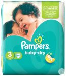 COUCHE BEBE PAMPERS BABY DRY T3 5-9KG