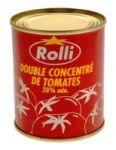CONCENTRE DE TOMATE ROLLI BOITE 1 - 6 X 24 X 2 X 140 G