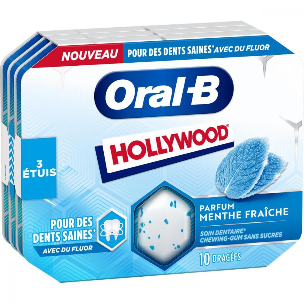 Hwd Oral-b 3x17g Menthe Forte