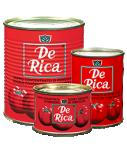 Double concentré de tomates DE RICA(24 x 400 g)