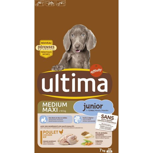 Ultima Chien Medium/max Junior