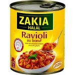 Ravioli boeuf Zakia HALAL 12 x 800g