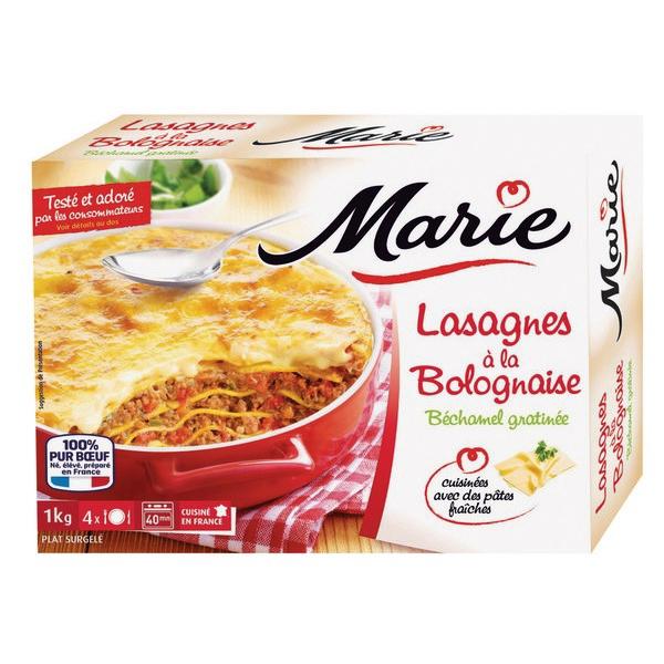 Lasagnes A La Bolognaise 1kg