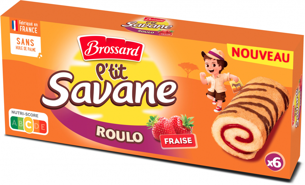 Ptit Savane Roulo Fraise 150g