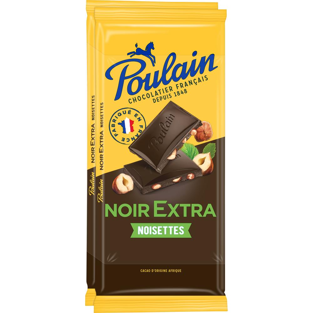 Poulain Noir Extra Noisette 2x