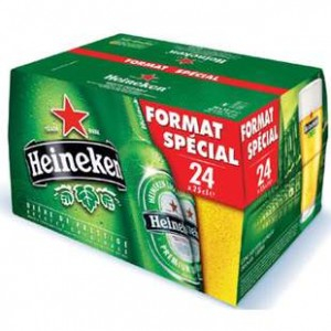 Heineken Blde Bte Slim 5d25cl