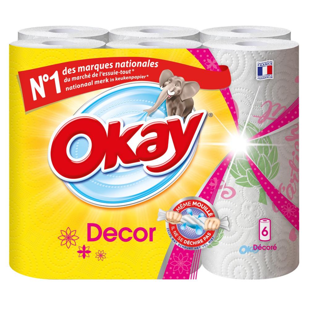 Essuie Tout Okay Decor 6rlx