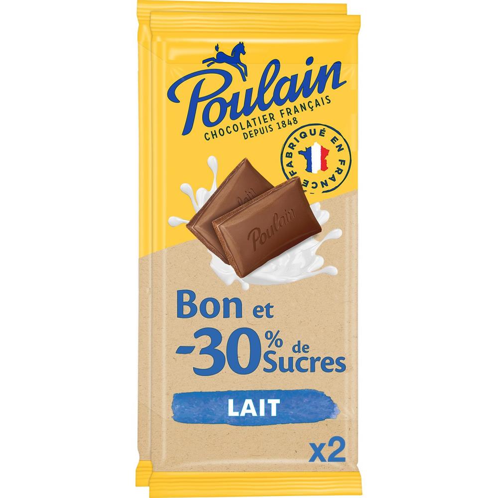 Poulain Lait-30 Sucres2x85g