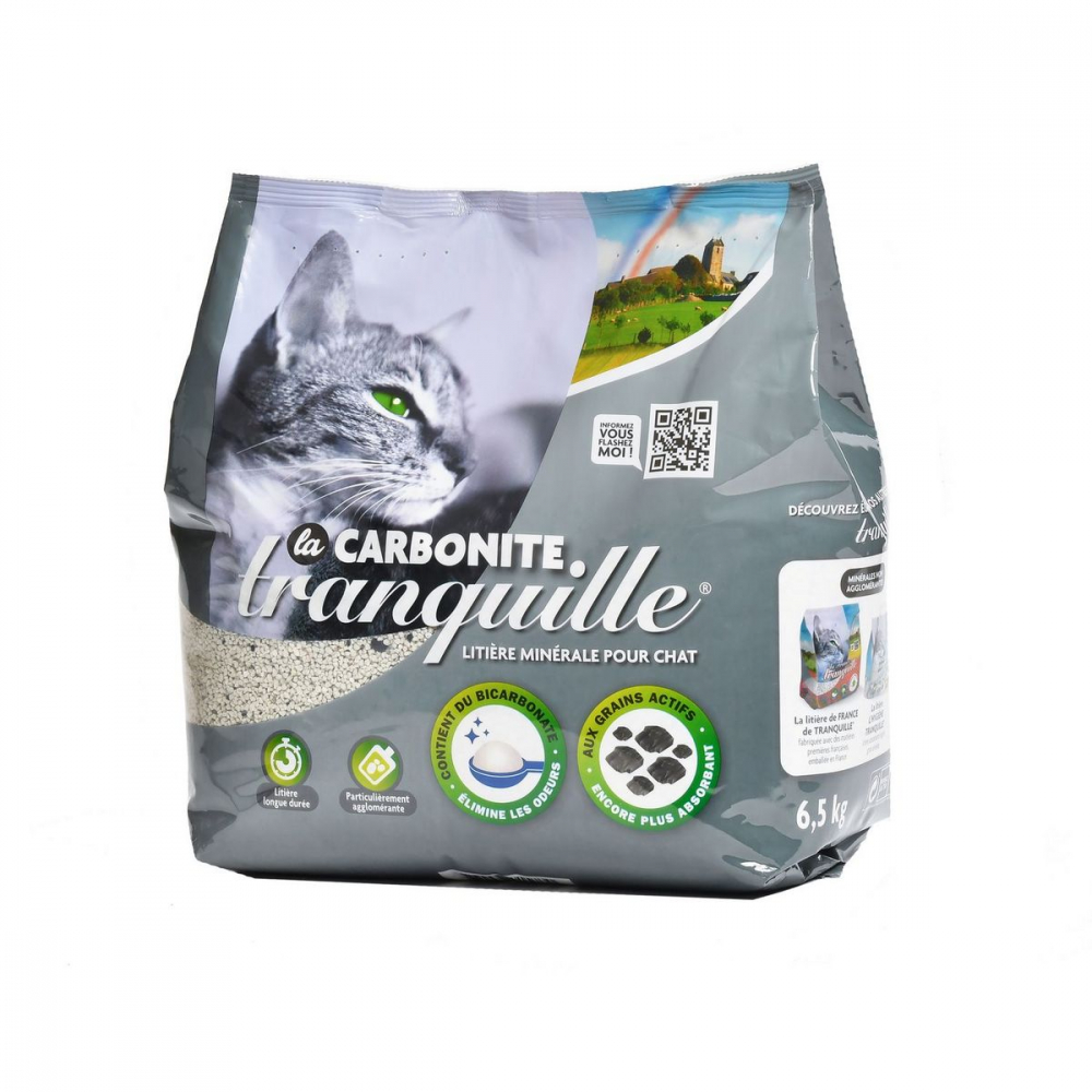 Litiere Tranq Carbonite 6,5kg