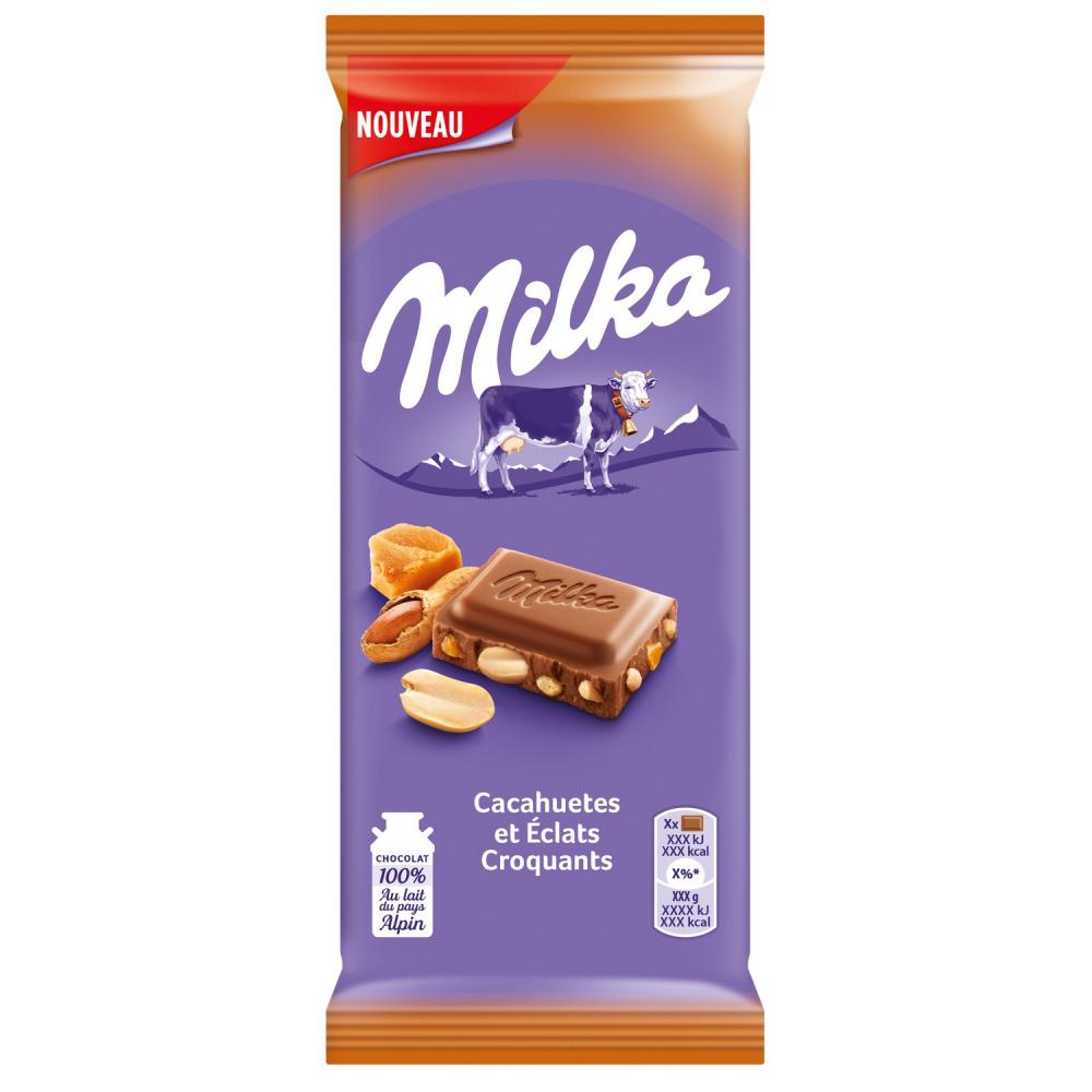 Milka Ccht Eclat Croq.2x90g