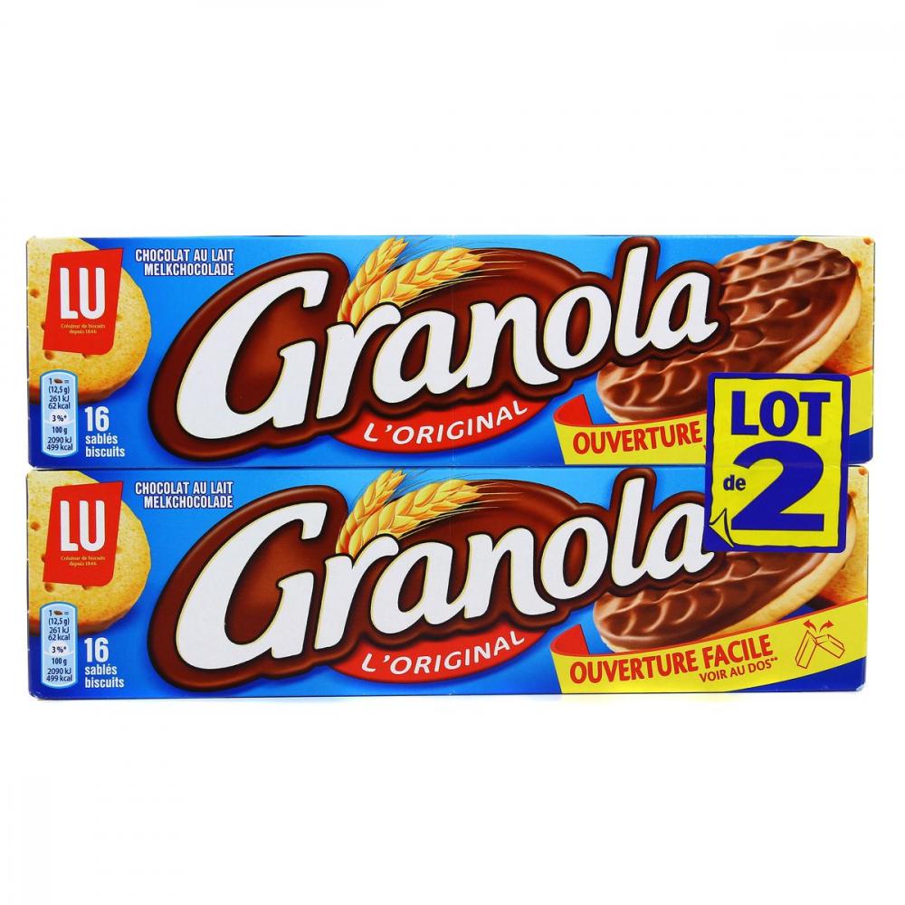 Granola 2x200g Choco Lait