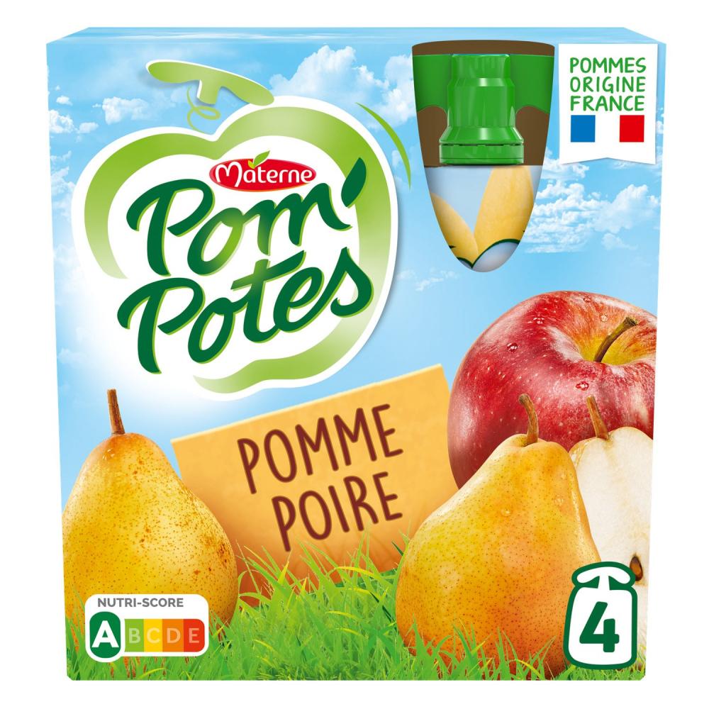 Pom Pot Pom/poire 4x90g