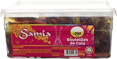 Bonbons Cola Tubos 200p