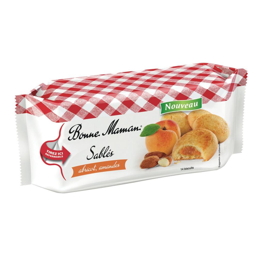 Bm Sable Abricot/amand 150g