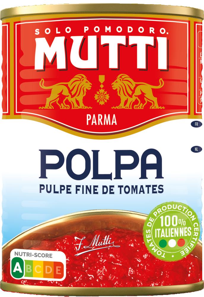 Tomate Concas.polpa Mutti 400g