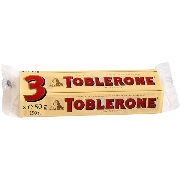 Toblerone Lait 3x50g