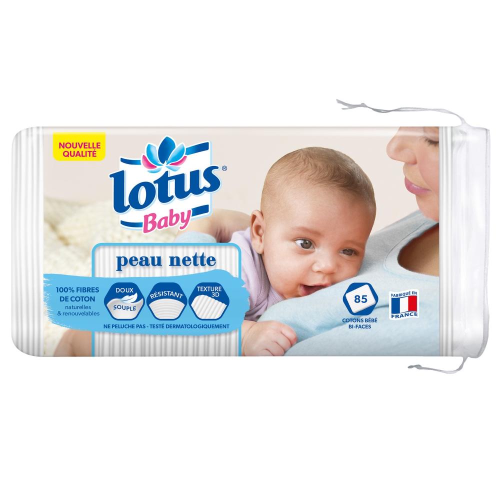 Lotus Baby Coton Peau Nette X8