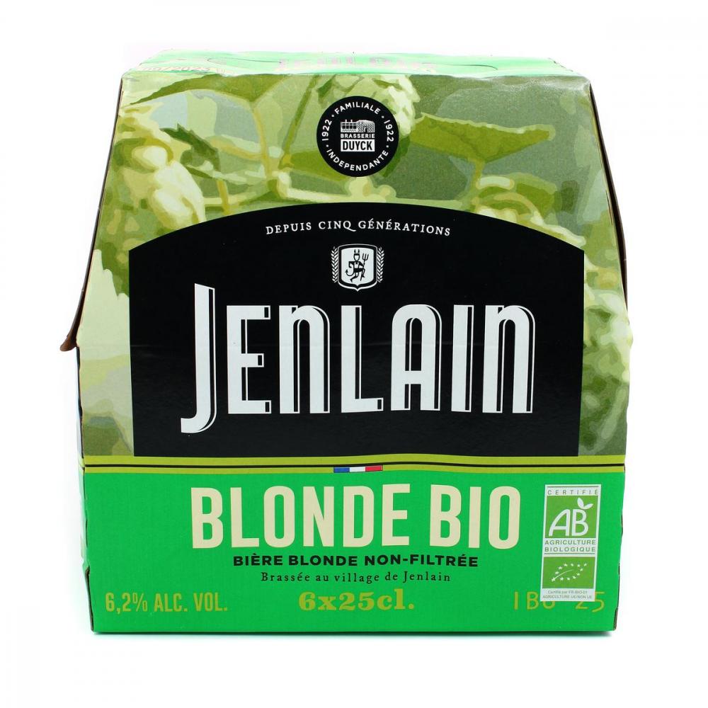 Jenlain Bl.bio N.f.6x25cl 6,2d