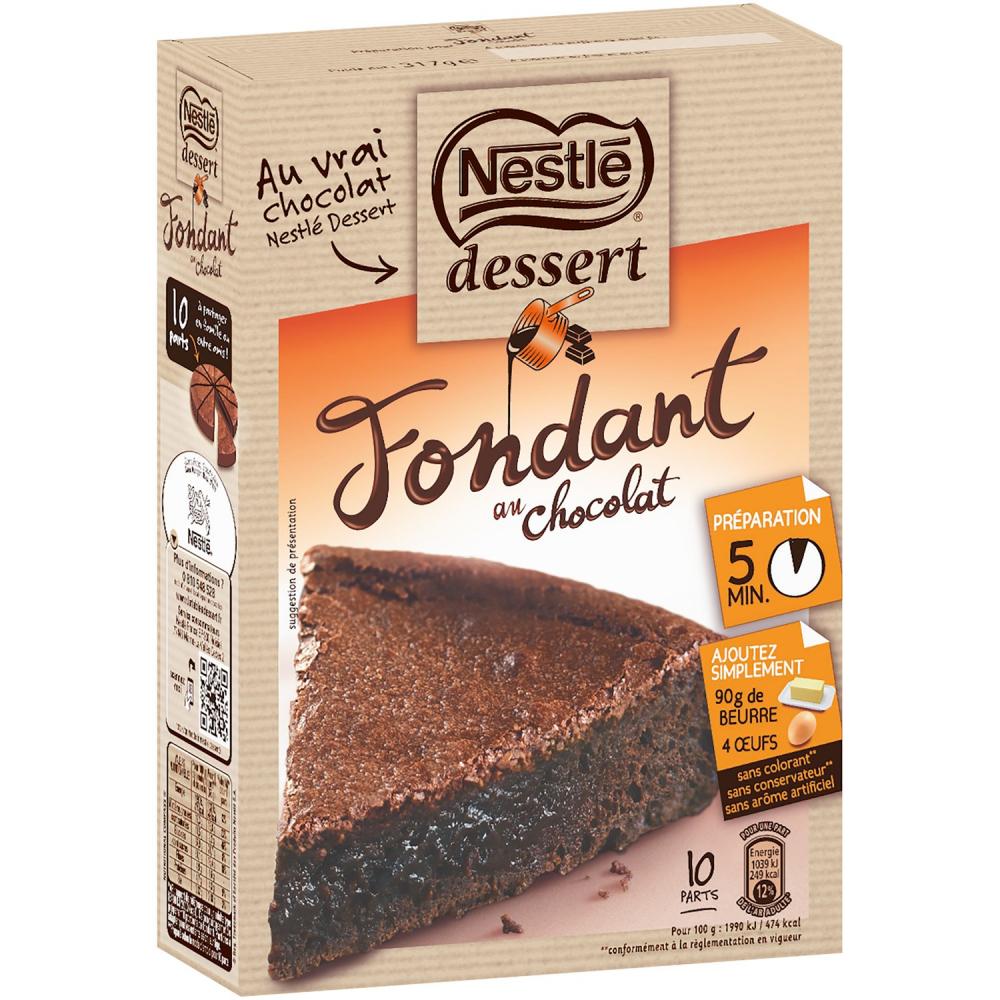 Nestle Prep.gateau Fond.choco