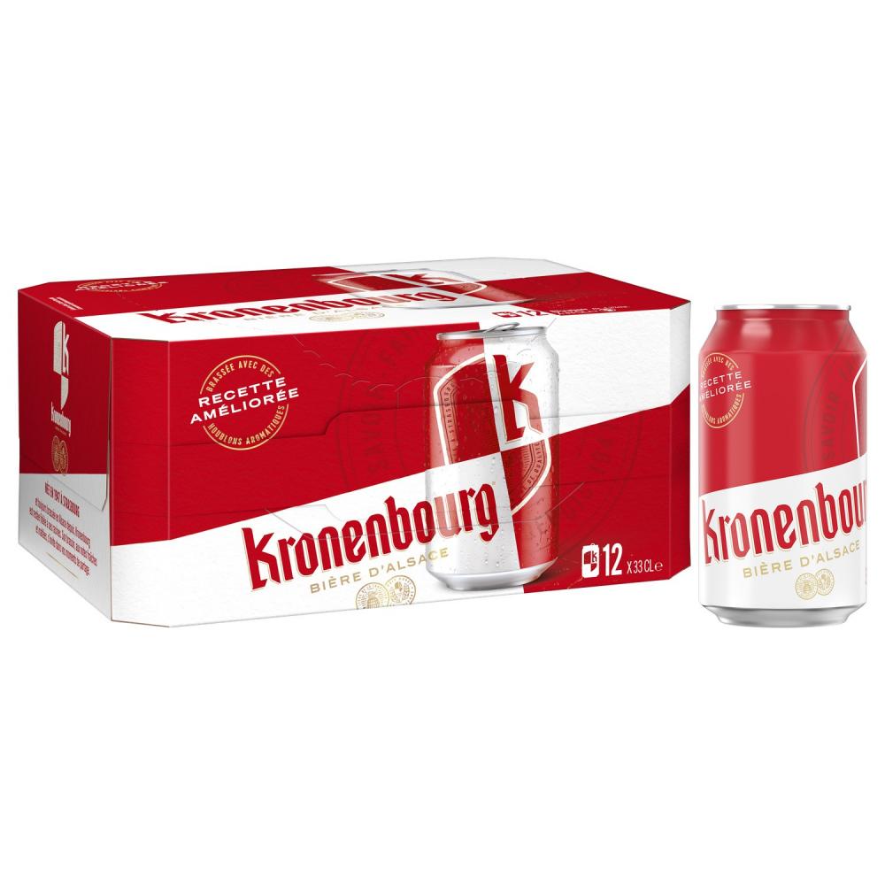 Kronenbourg 12x33cl Bte 4d2