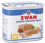 Luncheon meat Poulet ZWAN