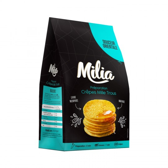 Mix Crepe Mil Trous 500g Milia
