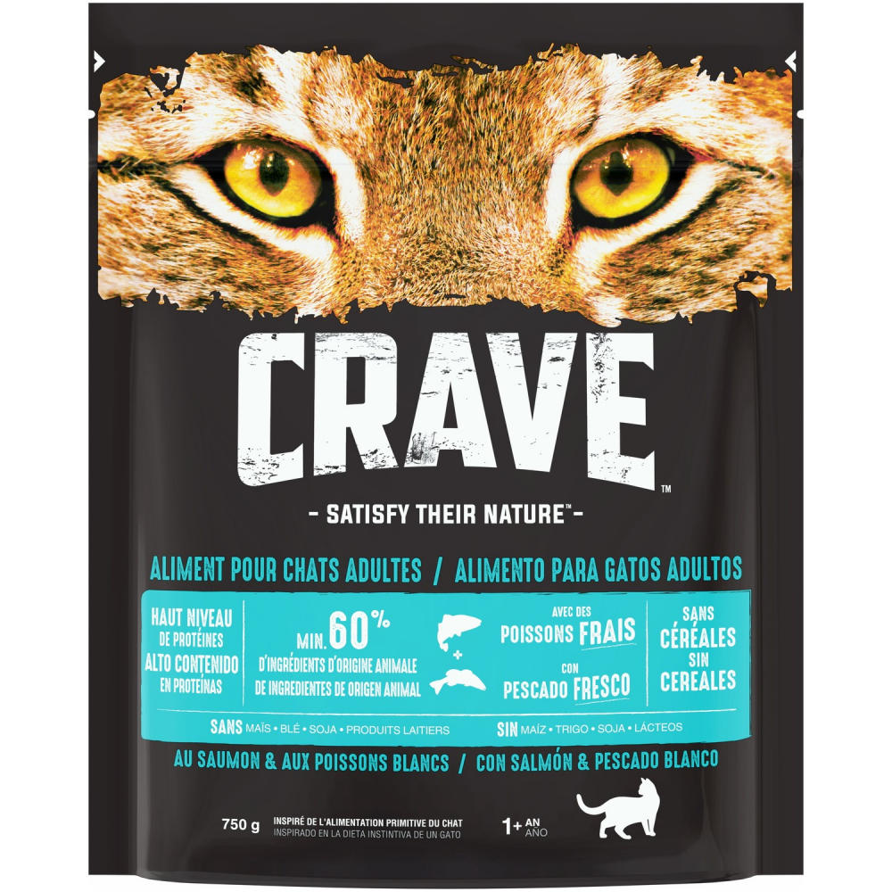 Crave Croq.saumon.adult 750g