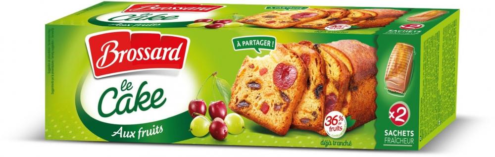 Cake Aux Fruits 500g