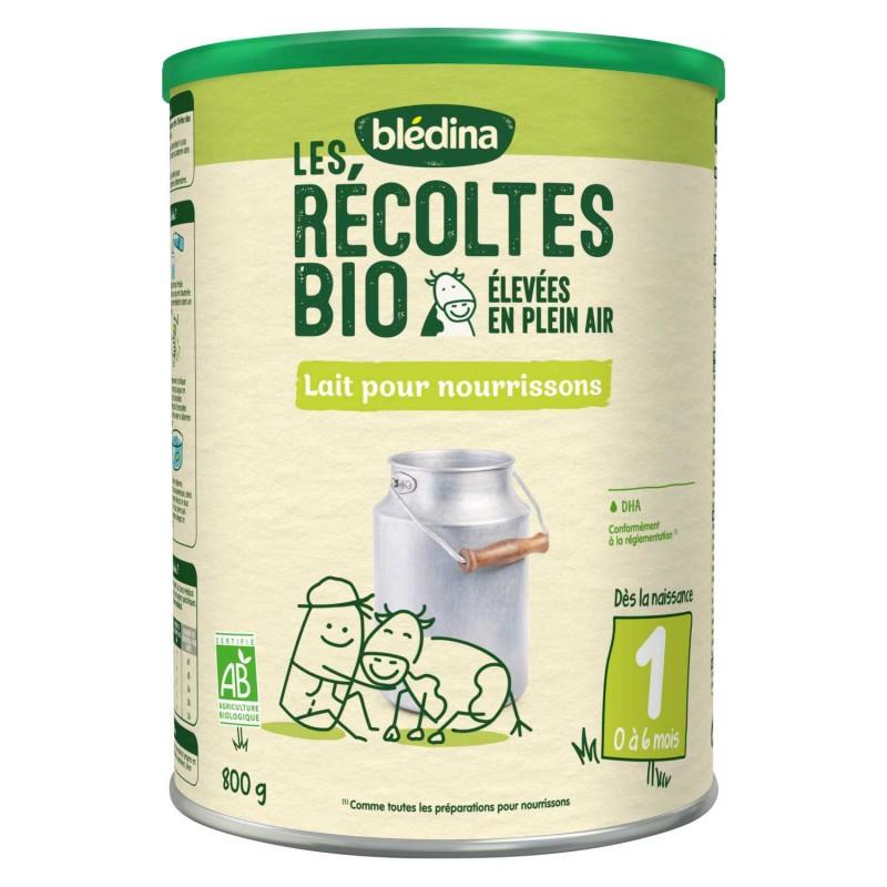 Les Recoltes Bio 1er Age 800g