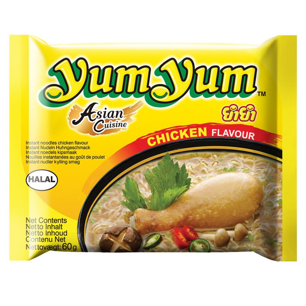 Nouill.poulet.60g Yum Yum
